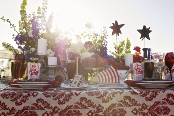 4th of July Wedding Inspiration Featured on Style Me Pretty, 4th of July Wedding Inspiration, 4th of July, Style Me Pretty